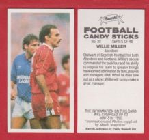 Aberdeen Willie Miller 30